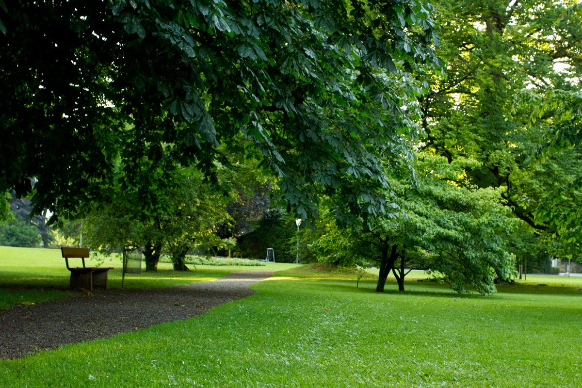حديقة Thun - سويسرا