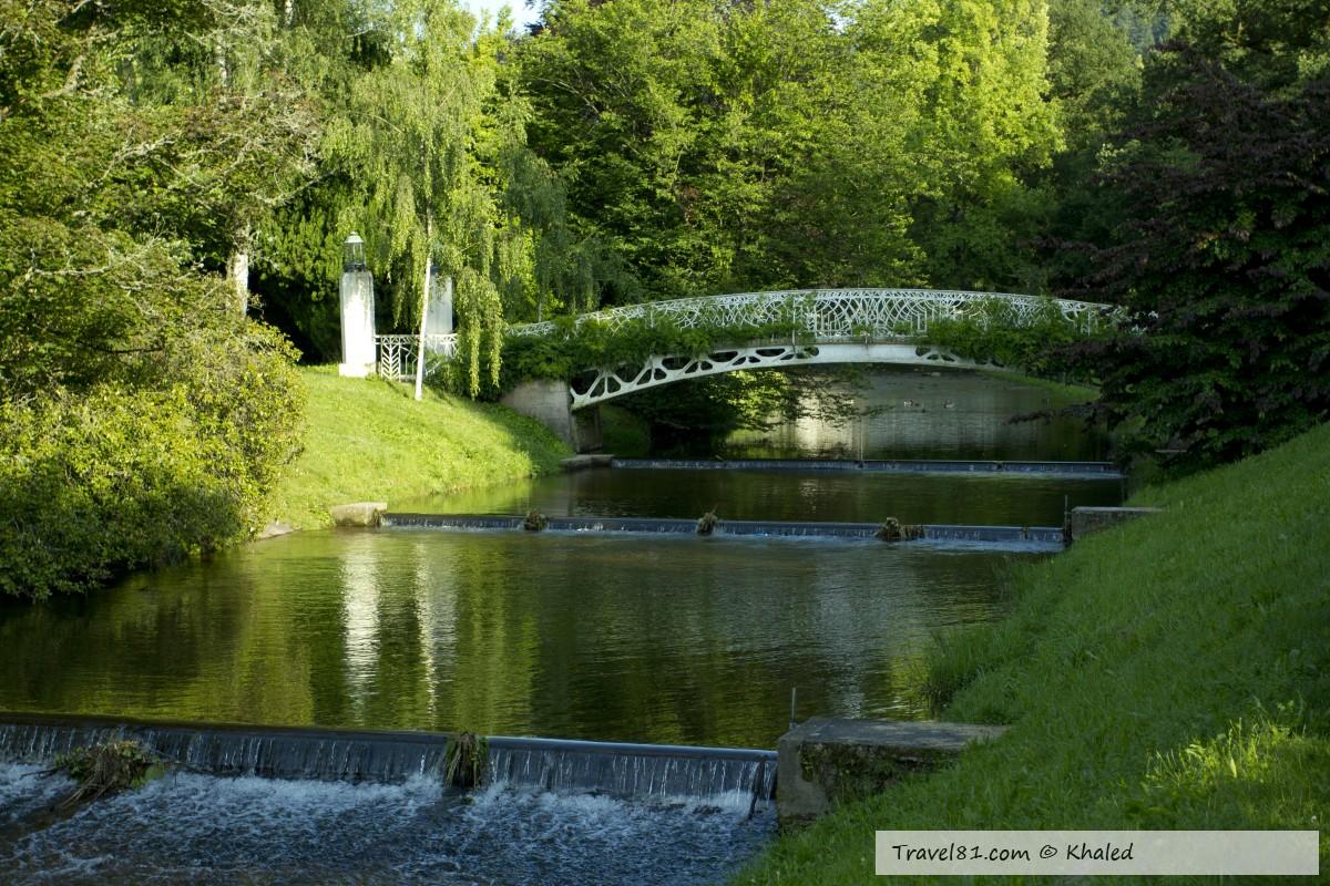 حديقة بادن بادن ليختن تالا آليه