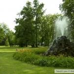 نافورة حديقة بادن بادن