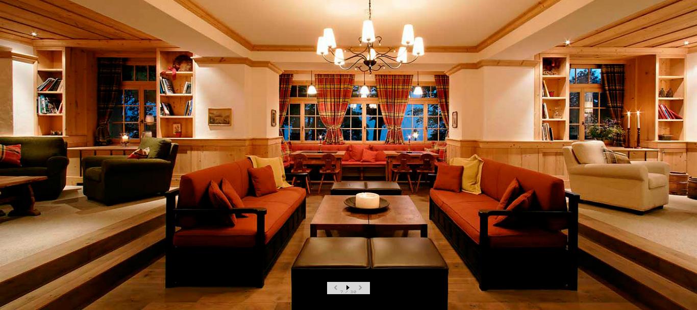 جلسة البهو في فندق ألبن روز