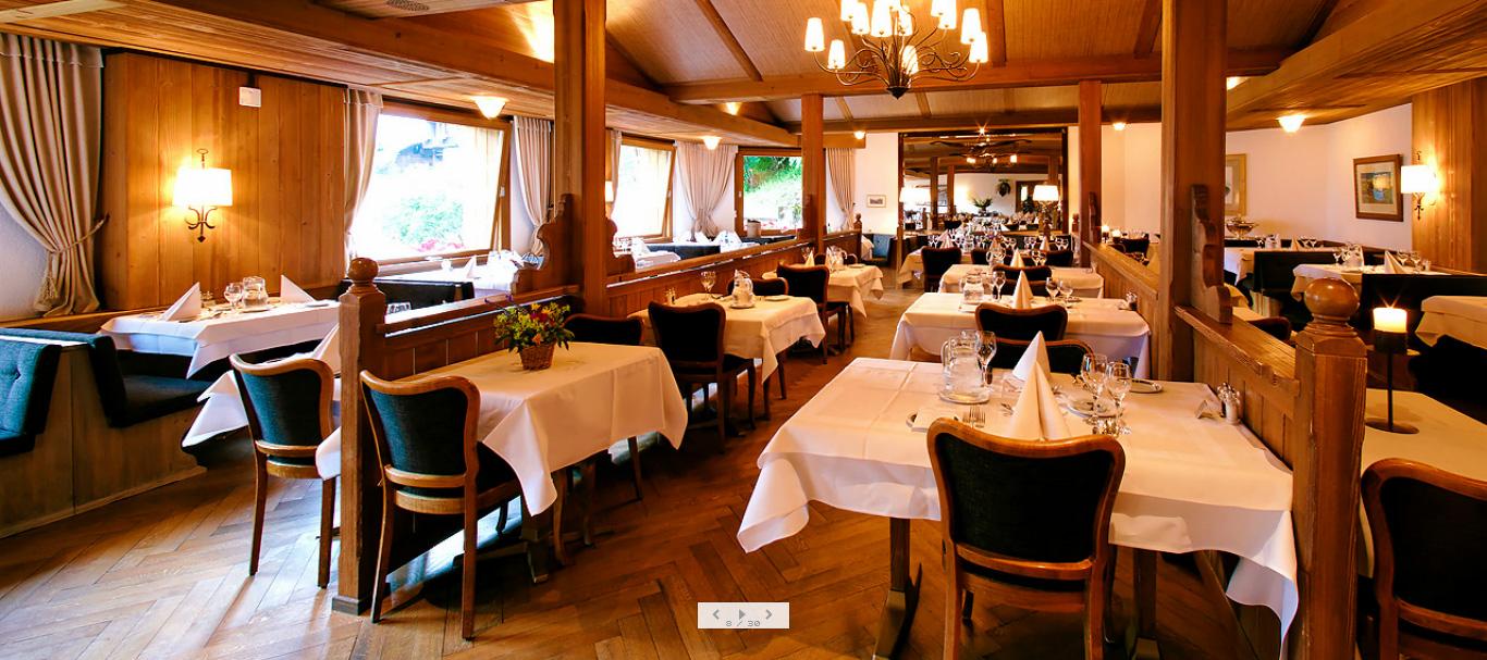 مطعم فندق ألبن روز alpenrose