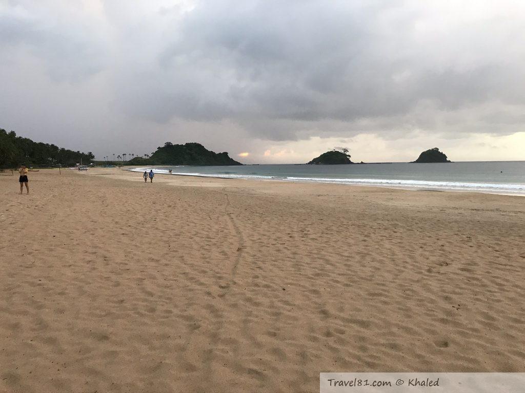 شاطئ ناك بان جزيرة بالا وان الفلبين