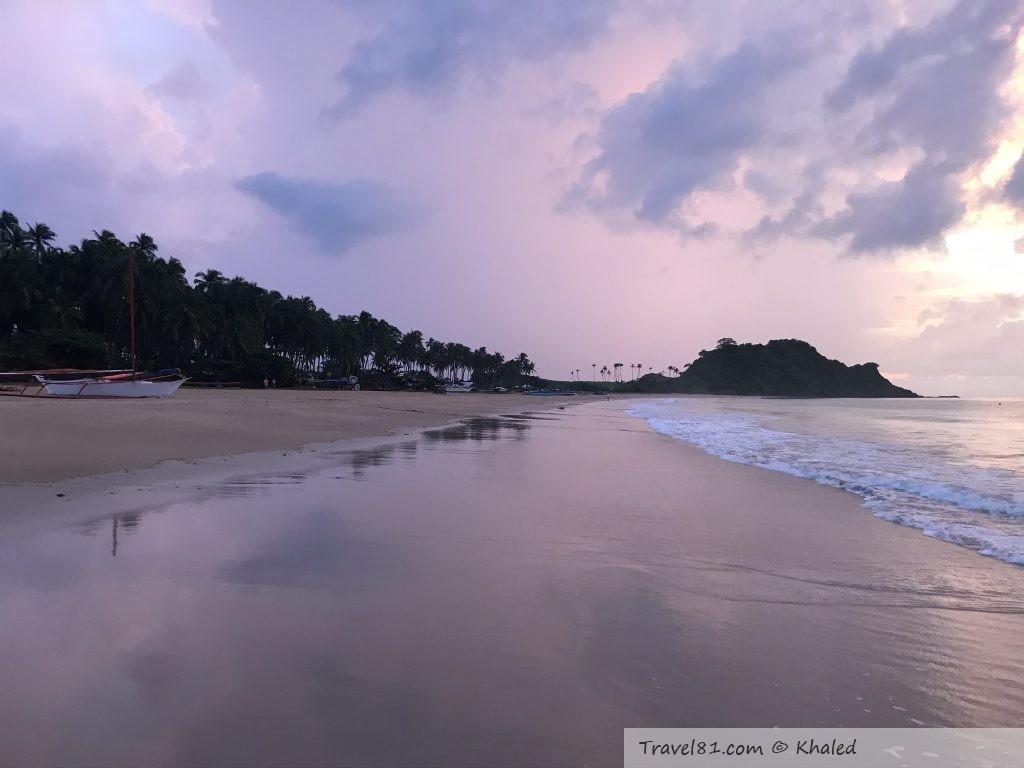 شاطئ ناك بان الفلبين